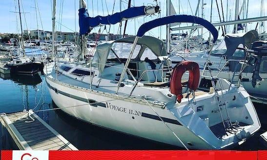 37ft Sloop Rental In Eivissa, Spain For 8 Person