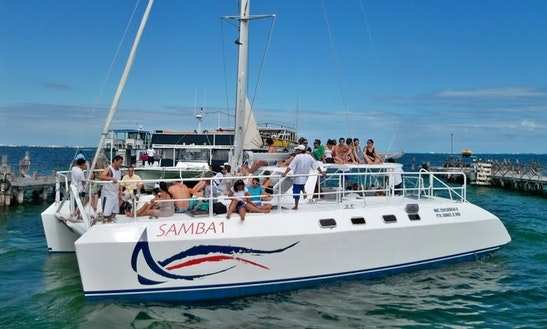 Enjoy The Most Comfortable And The Most Fun Catamaran Cruise Of The Riviera Maya, Mexico