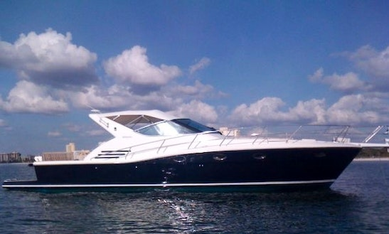 Diva - 51' Uniesse A Truly Luxurious Power Mega Yacht Charter In Cancún, Mexico