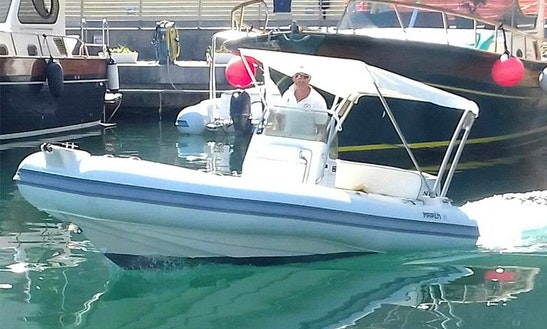 Rent An 18' Marlin Rib For 2 Person In Sorrento, Campania