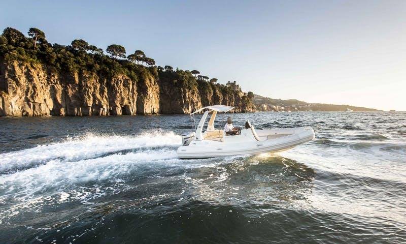 Domar RIB to Discover Beauty of Sorrento Peninsula and the Amalfi Coast