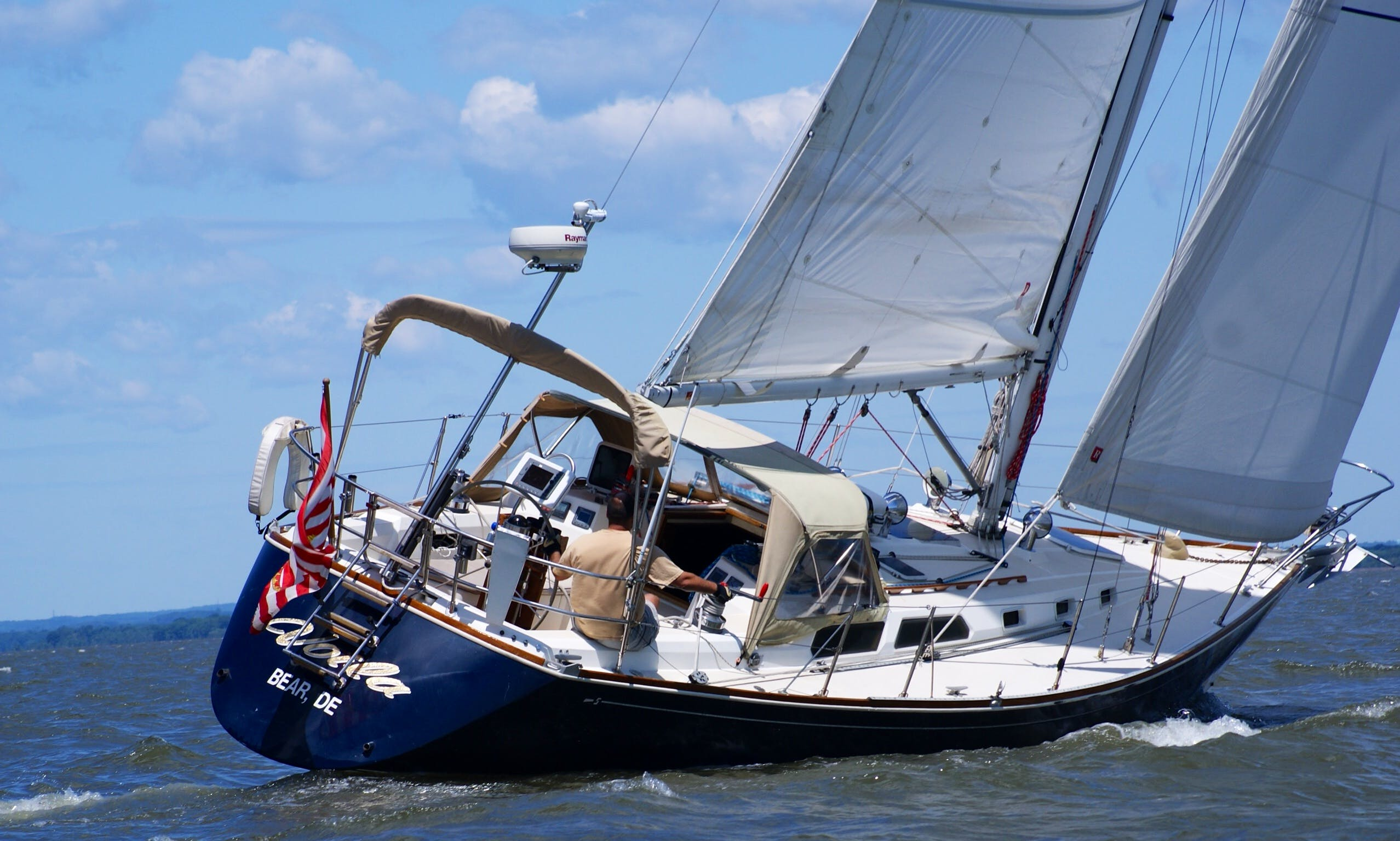 Charter The Sabre 38mkII Cruising Monohull in Rock Hall, Maryland