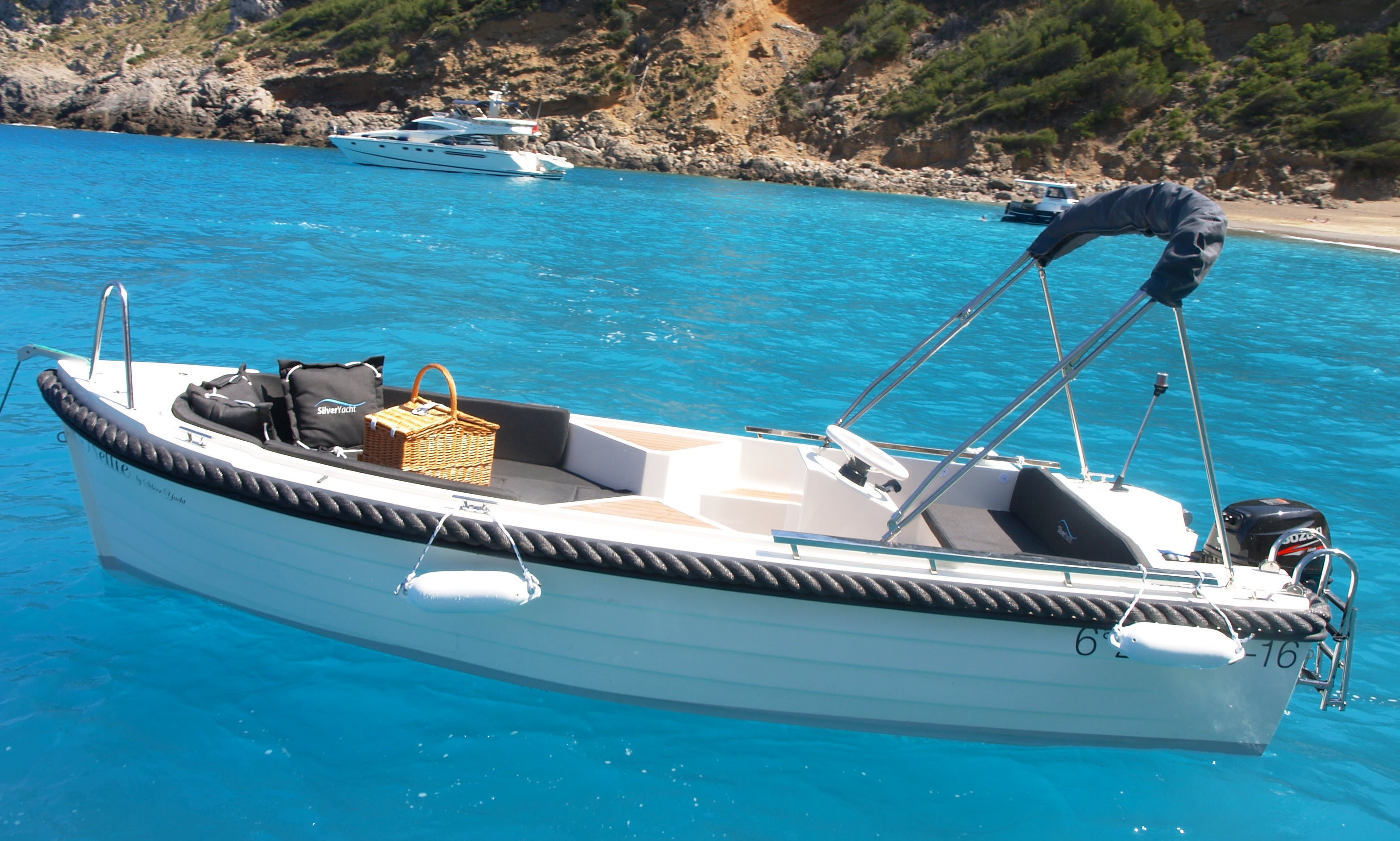 A perfect choice for enjoying a day out on the water in Port d'Alcúdia, Spain
