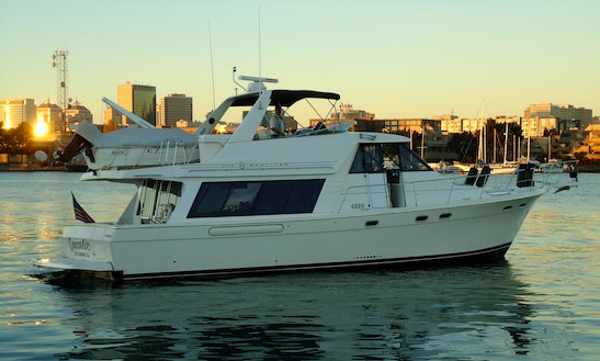 Charter The 54' Private Motor Yacht In Sausalito, California