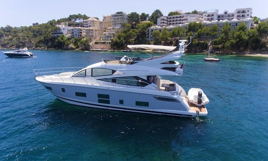 Explore The Bays Of Mallorca On 65' Pearl Power Mega Yacht