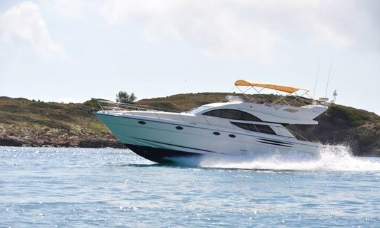 Charter This 6 Persons 50' Fairline Phantom Motor Yacht In Palma, Spain