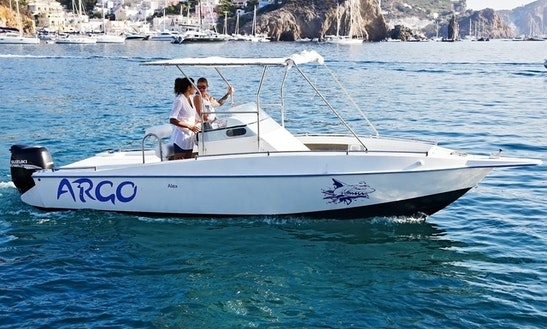 Explore Ponza Lazio, Italy On 23 Ft Argo Center Console