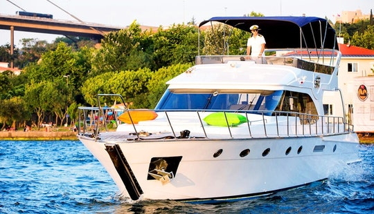 Princess Motor Yacht For 25 Pax Available For Charter In İstanbul, Turkey