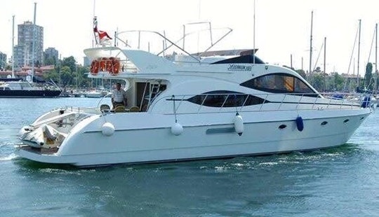 Jump Aboard This Fabulous Motor Yacht In İstanbul, Turkey