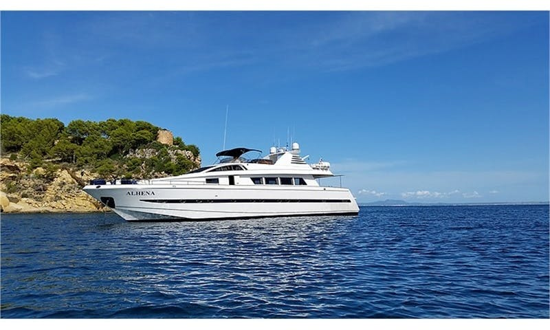 Charter The Astondoa a 90′ Luxury Mega Yacht in Palma, Balears