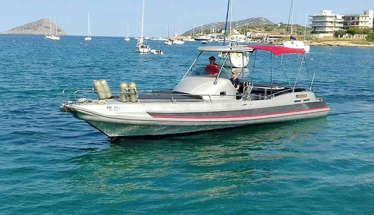Rib Rental In Porto Cheli Spetses With Skipper
