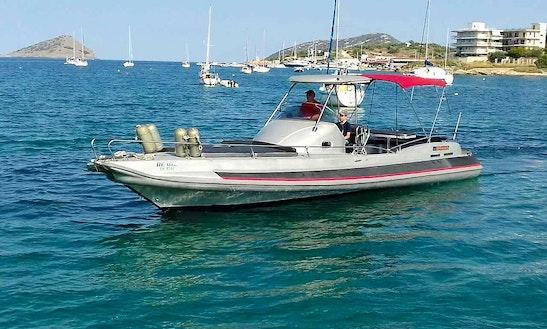 Rib Rental In Porto Cheli Spetses With Skipper