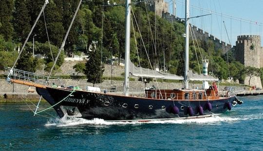 Sail With Refreshing Breeze In İstanbul, Turkey Aboard Sureyya Schooner