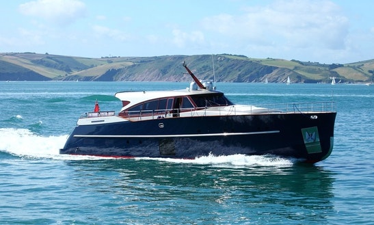 Explore Palma, Balears On 79' Navalia Power Mega Yacht