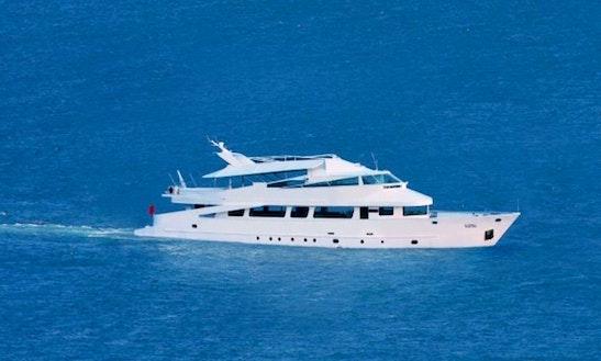 Spend Great Time Aboard Prestige Power Mega Yacht In İstanbul, Turkey