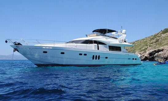 Luxury Princess 23 Power Mega Yacht Charter In Palma, Balears