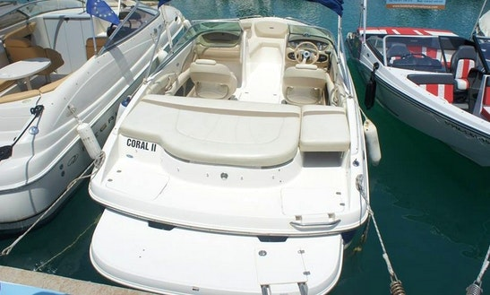 Enjoy With Your Friend On This 8 Persons Chaparral Ssi 204 Bowrider Charter In El Toro, Spain