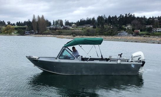 Family Fun Trip In Friday Harbor Aboard 20' Alumaweld Stryker