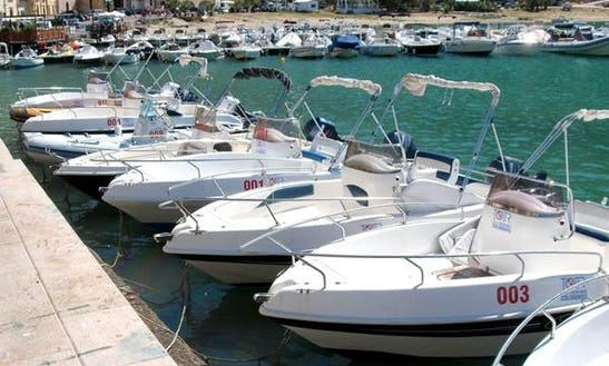 Terminal Boat Rental For 7 Person In Castellammare Del Golfo, Italy