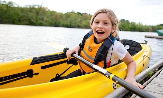 Single Kayak Rental At Lakeside Prospect Park In New York