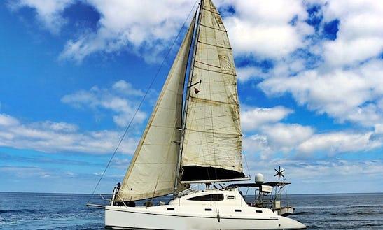 Cruising Catamaran Rental In Madagascar