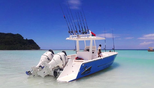 Enjoy Fishing In Nosy Be, Madagascar On 32ft Center Console