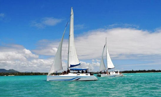 Charter A Beautiful Sailing Catamaran For Up To 21 People In Trou D'eau Douce, Mauritius