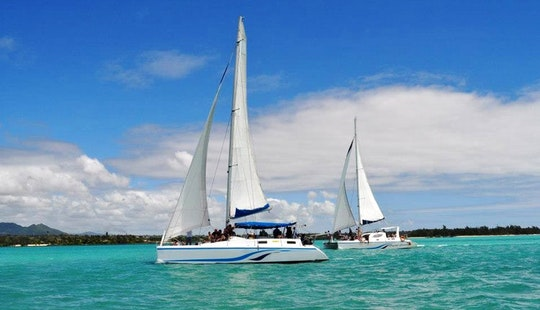 Charter A Beautiful Sailing Catamaran For Up To 21 People In Trou D'eau Douce, Mauritius