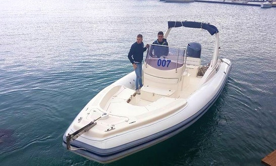Rent A Rigid Inflatable Boat In Castellammare Del Golfo, Italy
