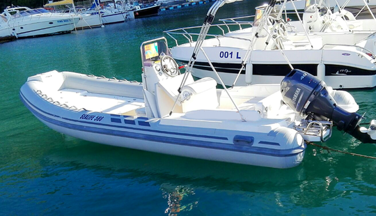 Rent Sealife 580 Rigid Inflatable Boat In Castellammare Del Golfo, Italy