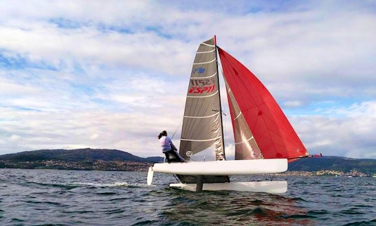 Rent F18 Beach Catamaran In Vigo, Spain