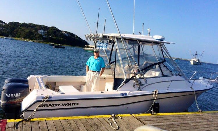 Cuddy Cabin/Walk Boat Fishing Charter in Chatham, Massachusetts