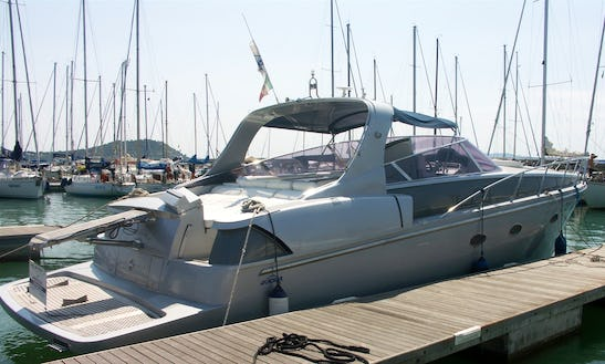 42ft Sun Blade Motor Yacht Charter In Orbetello