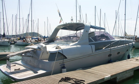 42ft Sun Blade Motor Yacht Charter In Orbetello