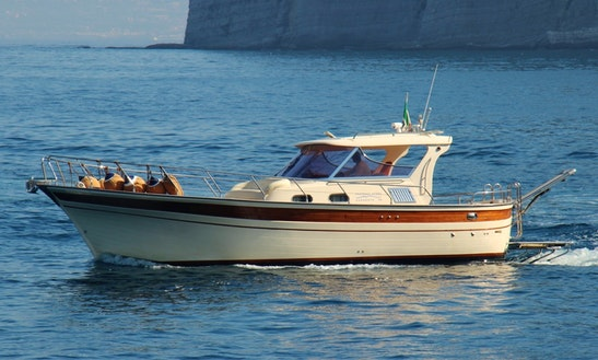 Unforgettable Guided Boat Tours In Sorrento, Italy On A Classic Gozzo Boat