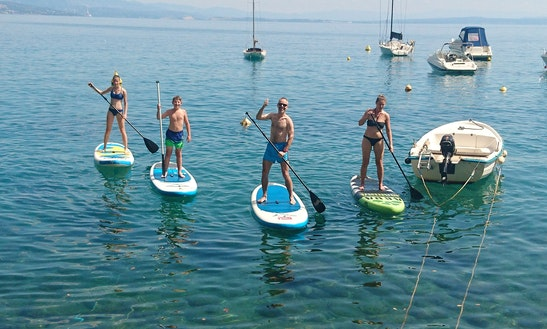 Rent A Stand Up On Krk Island, Porat, Vantacici, Croatia