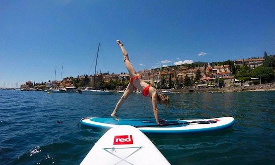 Pilates & Yoga Sup Training Krk, Croatia