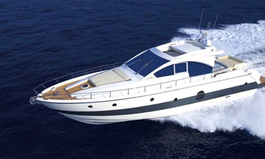 Aicon 62 Power Mega Yacht For Charter In Port Dell'etna - Marina Di Riposto