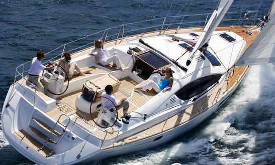 Jeanneau Sun Odissey 40 Cruising Monohull For Charter In Port Dell'etna - Marina Di Riposto
