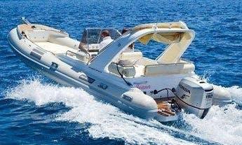 Primus Marine Shark 23 RIB Rental in Sumartin, Brač For 10 People