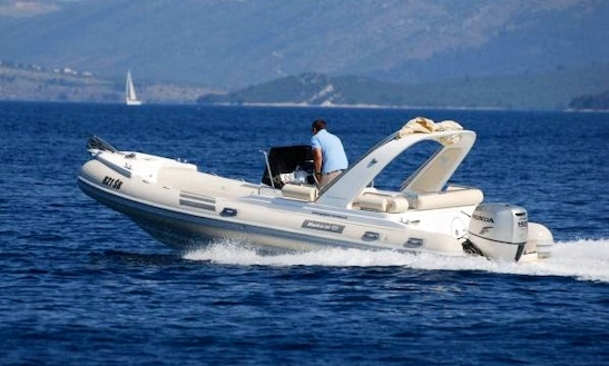 Primus Marine Shark 23 Rib Rental In Sumartin, Brač For 10 People