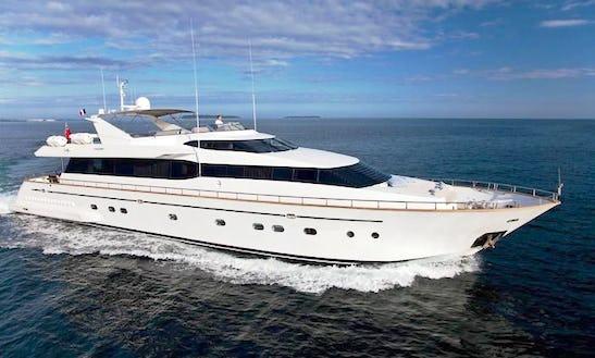 Discover Marbella, Andalucía On 102' Falcon Power Mega Yacht