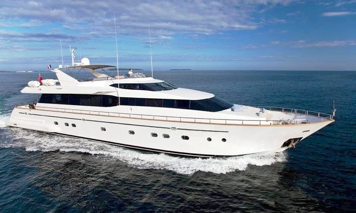 Discover Marbella, Andalucía on 102' Falcon Power Mega Yacht