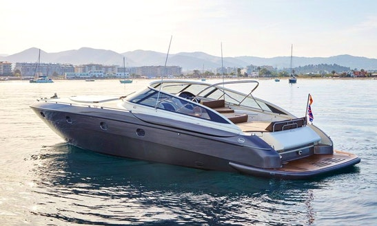 Charter 56' Baia Power Mega Yacht In Balears, Spain