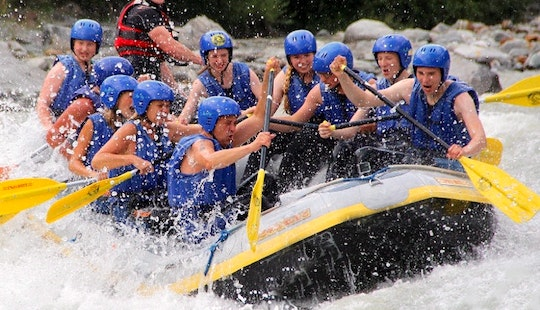 National Park River Rafting On The Isel, Austria