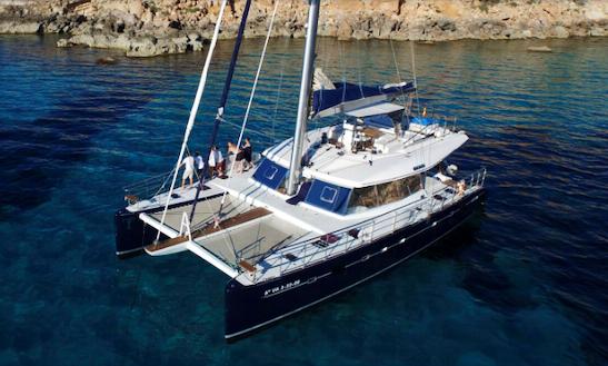 Charter This 62' Sunreef Cruising Catamaran With Skipper In Eivissa, Spain