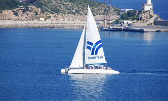 Enjoy Cruising On 75' Sun Cat Cruising Catamaran In Eivissa, Spain