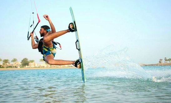 Enjoy Kiteboarding In Ras Sudr, South Sinai Governorate