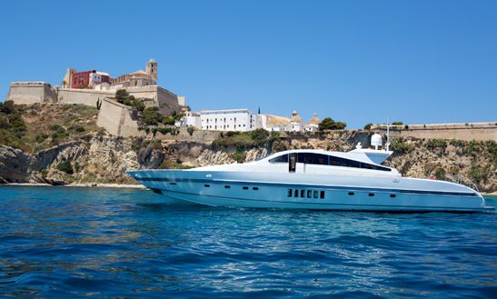 Charter This 24 Persons 89' Leopard Open Power Mega Yacht In Eivissa, Spain