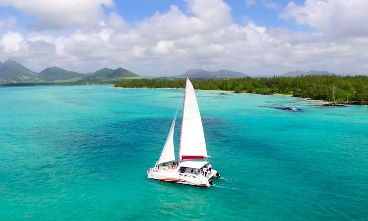 Charter a 10 passenger Cruising Catamaran in Trou d'Eau Douce, Mauritius